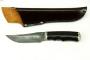 Нож Барс, торцовый дамаск