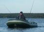 Надувная лодка из ткани ПВХ Беркут-350